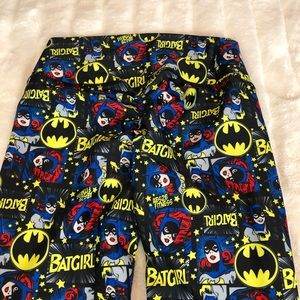 NWOT ABS2B Scrunch Butt Leggings Batgirl SZ S